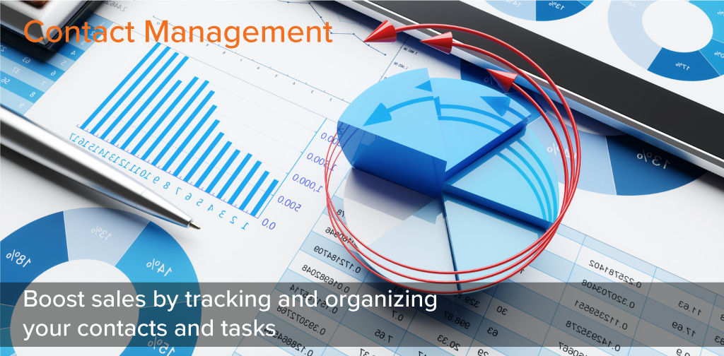 Contact Management - Boost sales by tracking and organizing your contacts and tasks