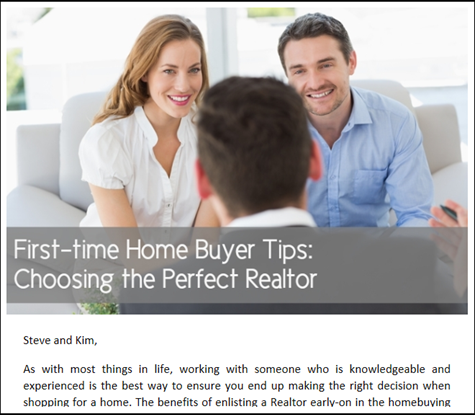 First-time Home Buyer Tips - Choosing the Perfect Realtor
