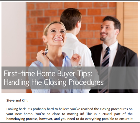 First-time Home Buyer Tips - Handling the Closing Procedures