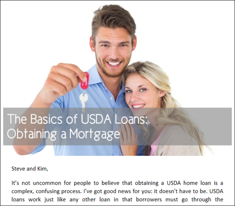The Basics of USDA Loans - Obtaining a Mortgage